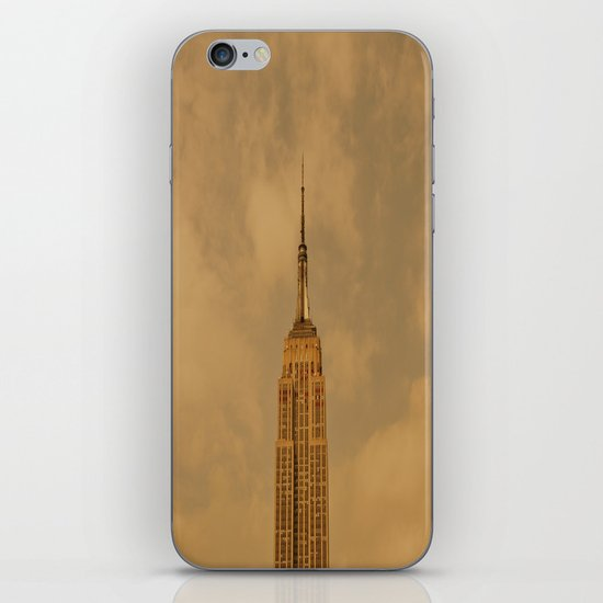 Empire State Isolation (for devices) iPhone & iPod Skin