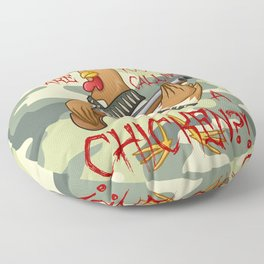 Who Are You Calling a CHICKEN? Floor Pillow