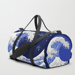 Great Blue Wave Duffle Bag