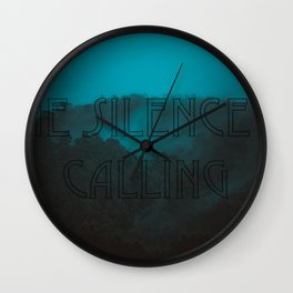 Silence Calling Wall Clock