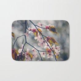 cherry blossom 02 Bath Mat