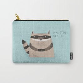 Sneaky Raccoon Carry-All Pouch