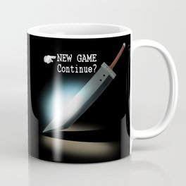 NEW GAME - Continue? Coffee Mug