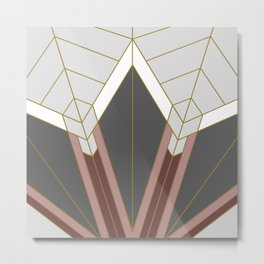 ART DECO G1 (abstract) Metal Print