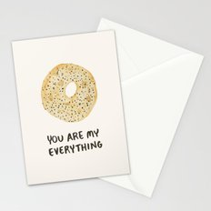 You Are My Everything Stationery Cards