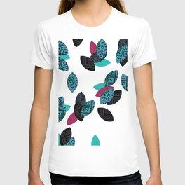 Aztec leafs Ioo T-shirt
