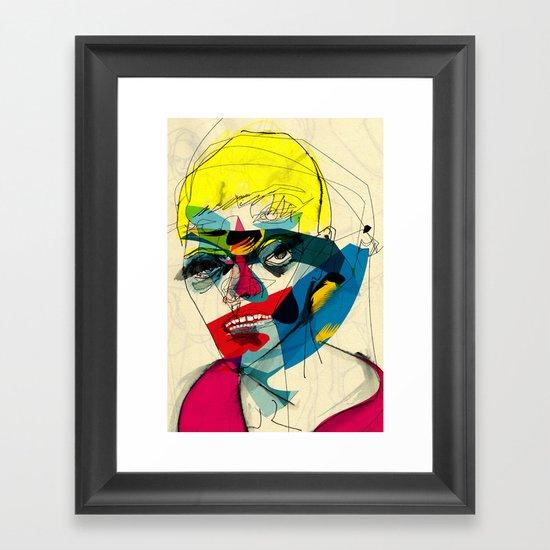 41112 Framed Art Print
