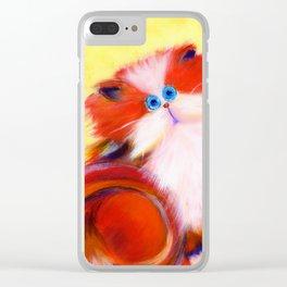 Tutti-Frutti Clear iPhone Case