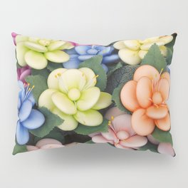 Sugared almonds as petals Pillow Sham