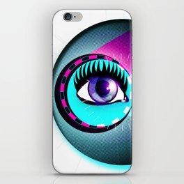 Halftone Eyeball iPhone Skin