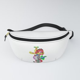 Dragon and dagger Fanny Pack