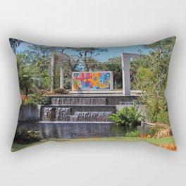 Burle Marx Plaza in Naples Rectangular Pillow