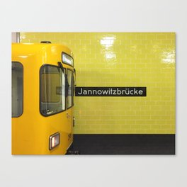 This Stop Jannowitzbrücke Canvas Print