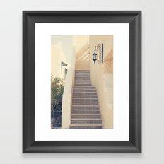 Romantically Framed Art Print