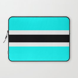 Flag of Botswana Laptop Sleeve