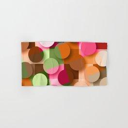 dots & squares Hand & Bath Towel