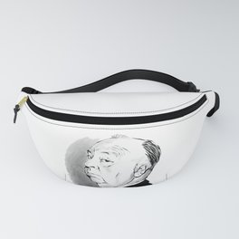 Alfred Hitchcock portrait Fanny Pack