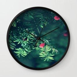 Autumn silance Wall Clock