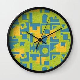Color Combination #2 Wall Clock