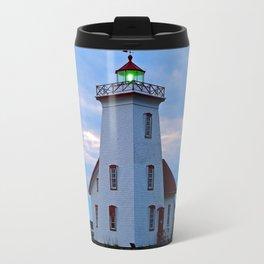Wood Islands Lighthouse, The Green Lantern Travel Mug