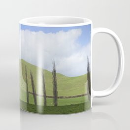 Countryside Forgotten World Highway SH 43 New Zealand Coffee Mug
