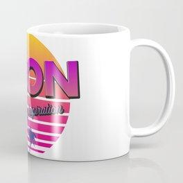 Neon inspiration 80s 90s style Coffee Mug