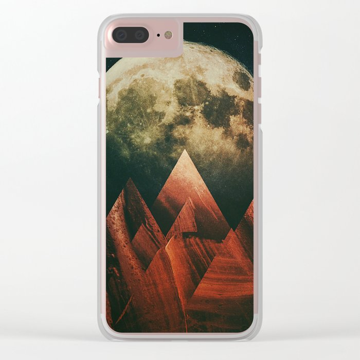 Fractions B21 Clear iPhone Case