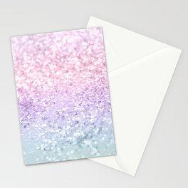 Unicorn Girls Glitter #1 (2019 Version) #shiny #pastel #decor #art #society6 Stationery Cards