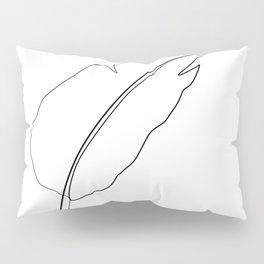 """ Botanical Collection "" - Strelitzia Palm Leaf Pillow Sham"