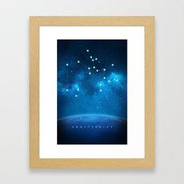 Sagittarius: Astrological Art Framed Art Print