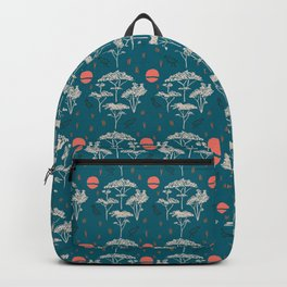 Mongolia Sunset Forest Backpack