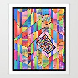 Sun Cancer Art Print