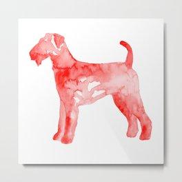 Airedale Terrier Metal Print