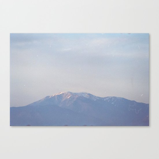 dusty mountain monday Canvas Print