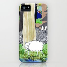 lost sheep iPhone Case