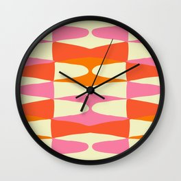 Zaha Sixties Wall Clock