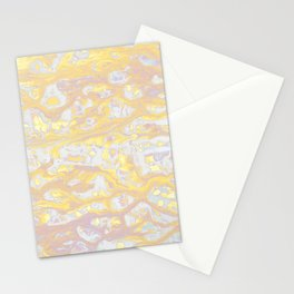 Baesic Wet Paint Gold Stationery Cards