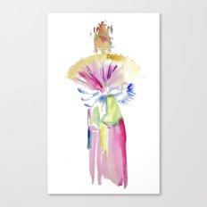 Fan Dancer Canvas Print