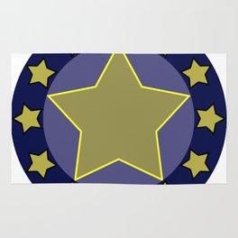 hero shield Rug