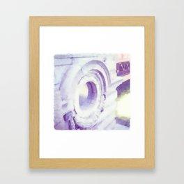 To Port Framed Art Print