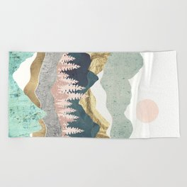 Summer Vista Beach Towel
