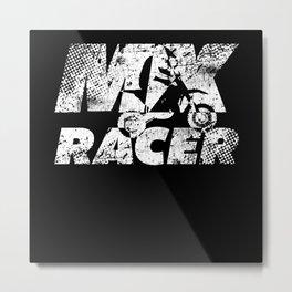Motorbike Motocross Metal Print