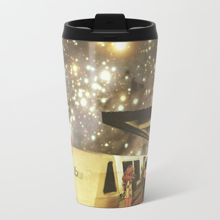 Enter the night  Metal Travel Mug