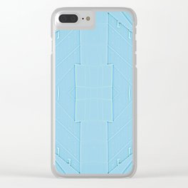 Shadow Play Mirrored Clear iPhone Case