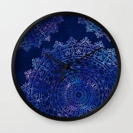 Cosmic Mandalas Wall Clock