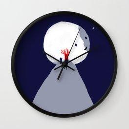 Red Tree Wall Clock
