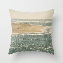 View from Bolinas Throw Pillow