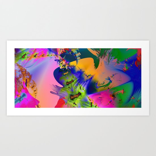 The Boneyard Art Print