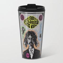 Tribute to Frank Zappa Travel Mug