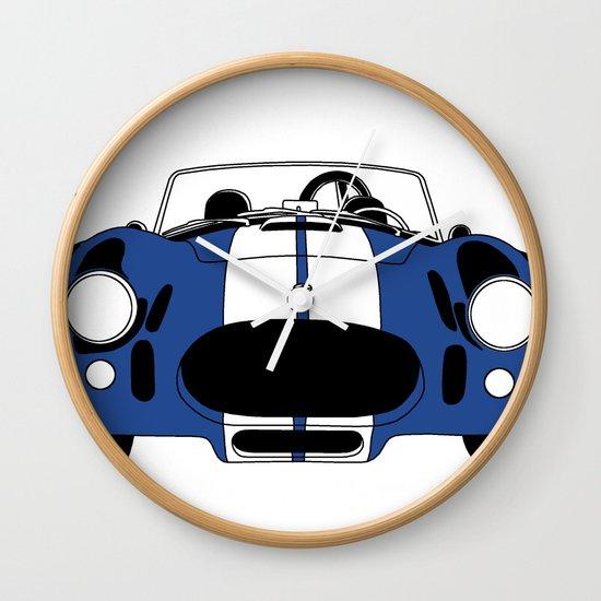 Shelby Cobra Wall Clock